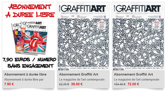 Abonnements Graffiti Art